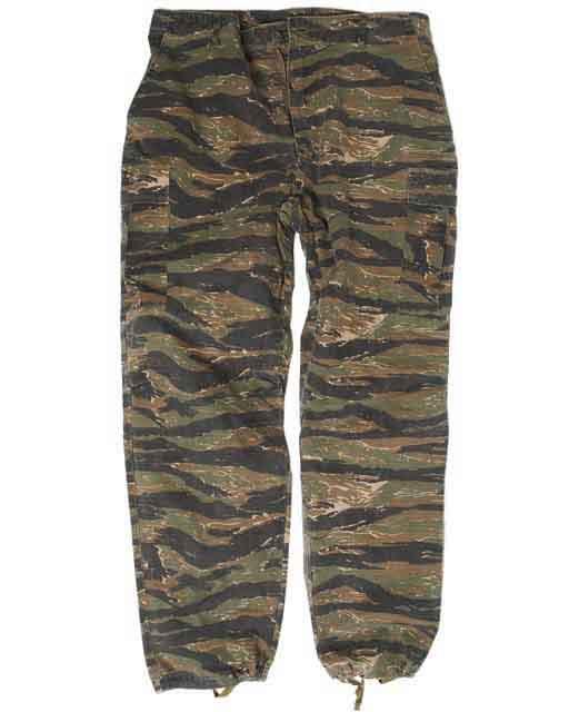US Jungle Pantalons Vietnam Tigre Rayures rayures tigre XL